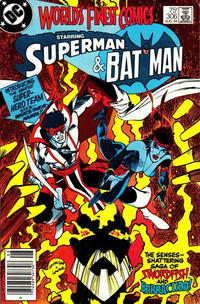 Cover Thumbnail for World's Finest Comics (DC, 1941 series) #306 [newsstand]