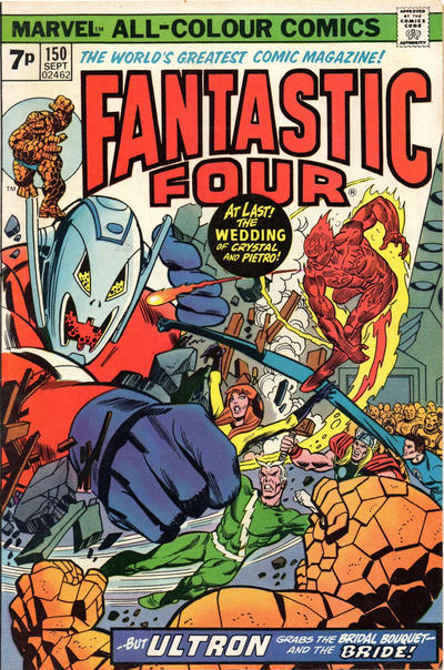 Cover for Fantastic Four (Marvel, 1961 series) #150 [Regular Edition]