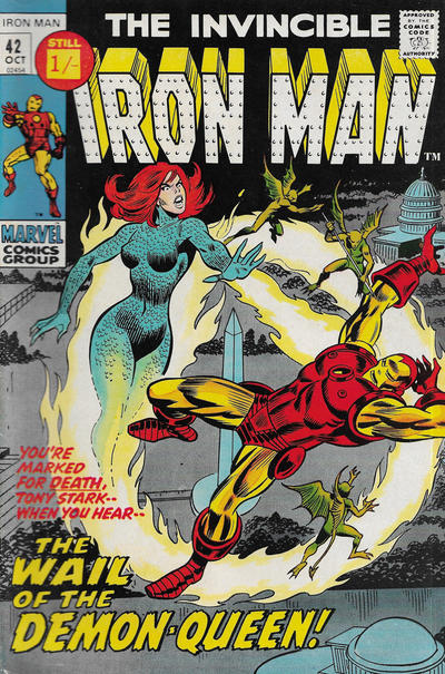 Cover for Iron Man (Marvel, 1968 series) #42 [Regular Edition]