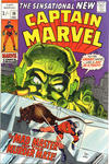 Cover Thumbnail for Captain Marvel (1968 series) #19 [British Price Variant]