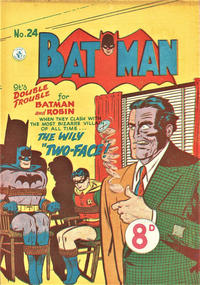 Cover Thumbnail for Batman (K. G. Murray, 1950 series) #24