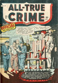 Cover Thumbnail for All True Crime Cases Comics (Bell Features, 1948 series) #27