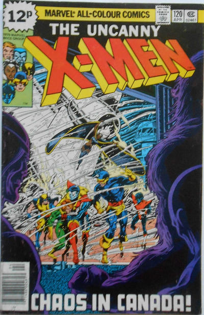 Cover for The X-Men (Marvel, 1963 series) #120 [Regular Edition]