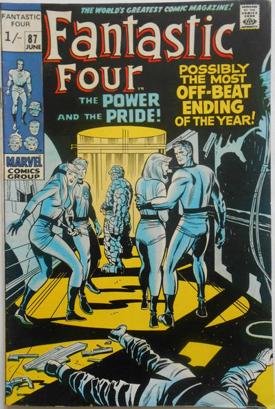 Cover for Fantastic Four (Marvel, 1961 series) #87 [Regular Edition]