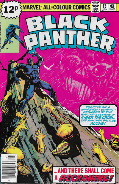 Cover for Black Panther (Marvel, 1977 series) #13 [Regular Edition]