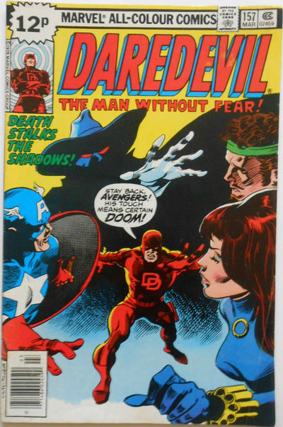Cover for Daredevil (Marvel, 1964 series) #157 [Regular Edition]
