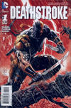 Cover for Deathstroke (DC, 2014 series) #1 [Second Printing Variant]