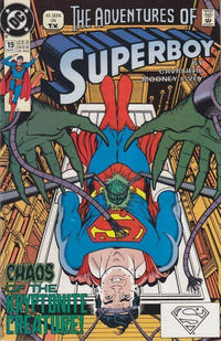 Cover for The Adventures of Superboy (DC, 1991 series) #19