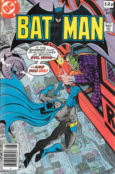 Cover for Batman (DC, 1940 series) #314