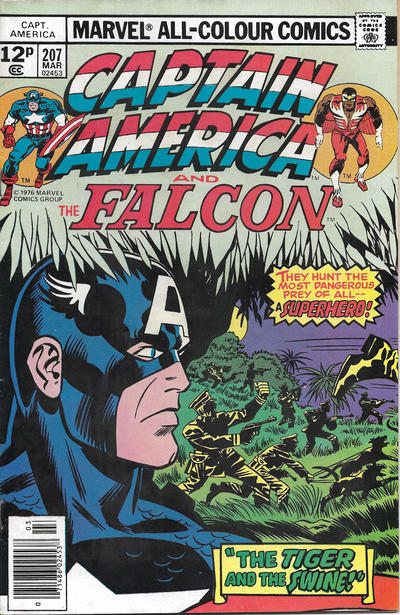 Cover for Captain America (Marvel, 1968 series) #207 [Regular Edition]