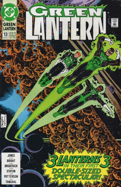 Cover for Green Lantern (DC, 1990 series) #13