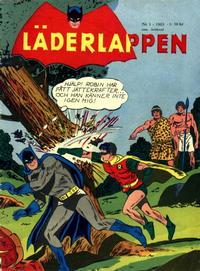 Cover Thumbnail for Läderlappen (Centerförlaget, 1956 series) #1/1963