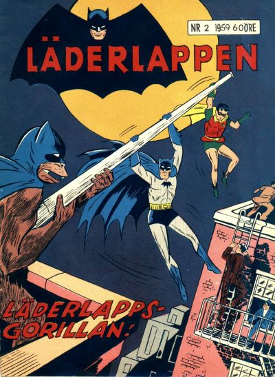 Cover for Läderlappen (1956 series) #2/1959