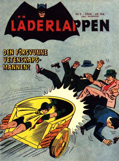 Cover for Läderlappen (Centerförlaget, 1956 series) #5/1960