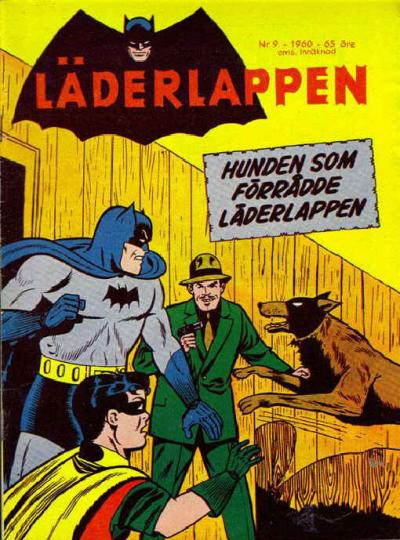 Cover for Läderlappen (Centerförlaget, 1956 series) #9/1960