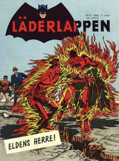 Cover for Läderlappen (Centerförlaget, 1956 series) #6/1962