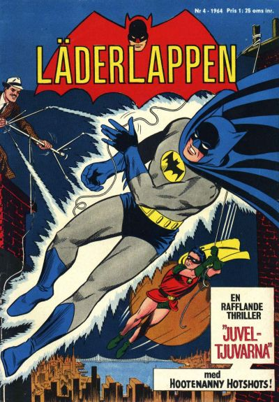 Cover for Läderlappen (Centerförlaget, 1956 series) #4/1964