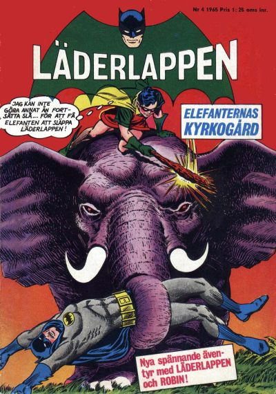 Cover for Läderlappen (1956 series) #4/1965