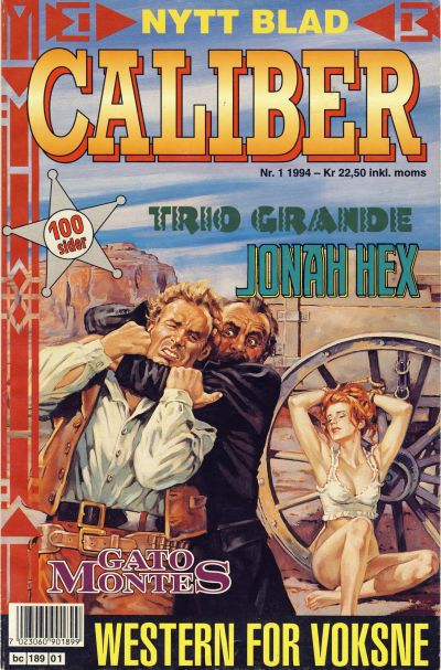 Cover for Caliber (Semic, 1994 series) #1/1994