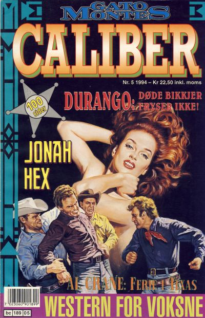 Cover for Caliber (Semic, 1994 series) #5/1994