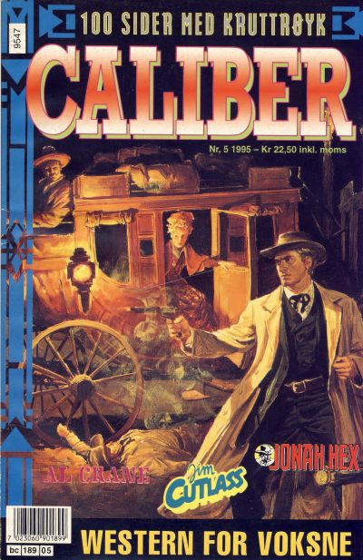 Cover for Caliber (Semic, 1994 series) #5/1995