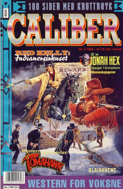 Cover for Caliber (Semic, 1994 series) #3/1996