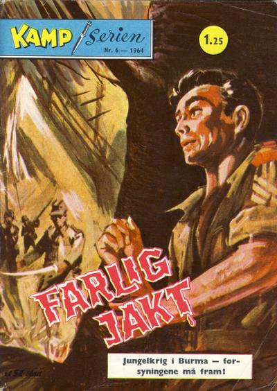 Cover for Kamp-serien (Se-Bladene, 1964 series) #6/1964