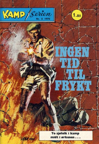 Cover for Kamp-serien (1964 series) #5/1970
