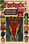 Cover Thumbnail for Fantastic Four (1961 series) #54 [British Price Variant]