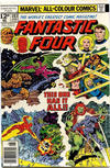 Cover for Fantastic Four (Marvel, 1961 series) #183 [British Price Variant]