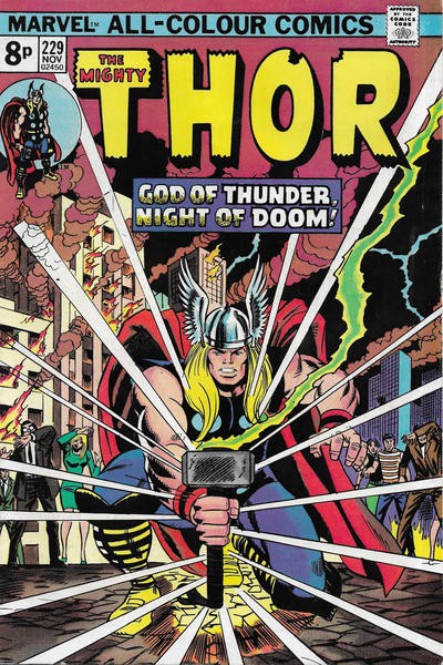 Cover for Thor (Marvel, 1966 series) #229 [Regular Edition]