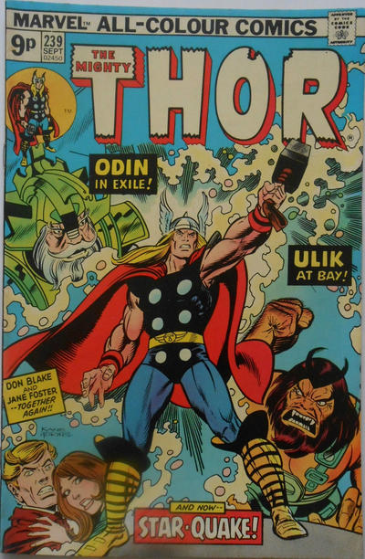 Cover for Thor (Marvel, 1966 series) #239 [Regular Edition]