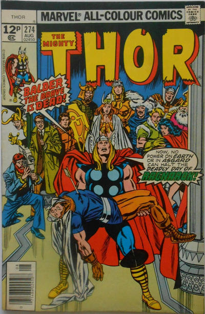 Cover for Thor (Marvel, 1966 series) #274 [Regular Edition]