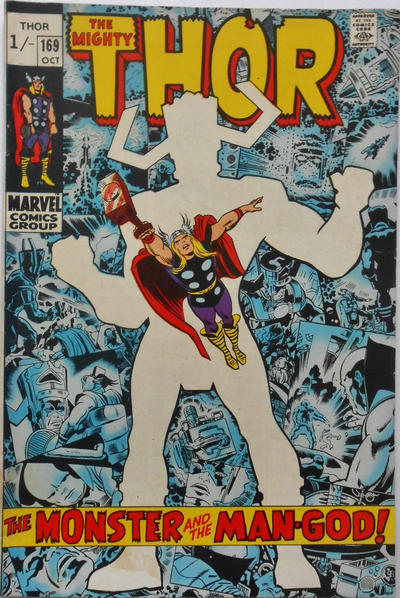 Cover for Thor (Marvel, 1966 series) #169 [Regular Edition]