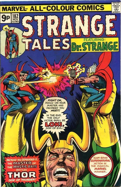 Cover for Strange Tales (Marvel, 1973 series) #182 [Regular Edition]