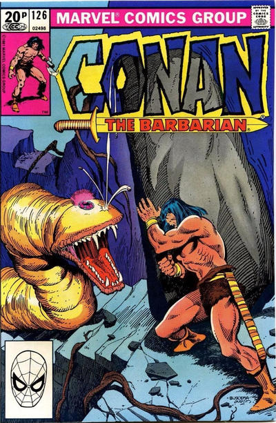 Cover for Conan the Barbarian (Marvel, 1970 series) #126 [Direct Edition]