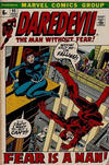 Cover for Daredevil (Marvel, 1964 series) #90 [British Price Variant]