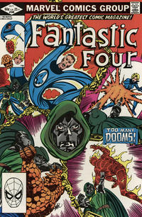 Cover Thumbnail for Fantastic Four (Marvel, 1961 series) #246 [Direct Edition]
