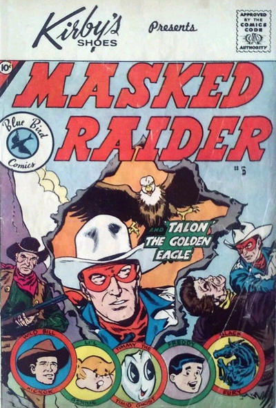 Cover for Masked Raider (Charlton, 1959 series) #5 [Schiff's Shoes]