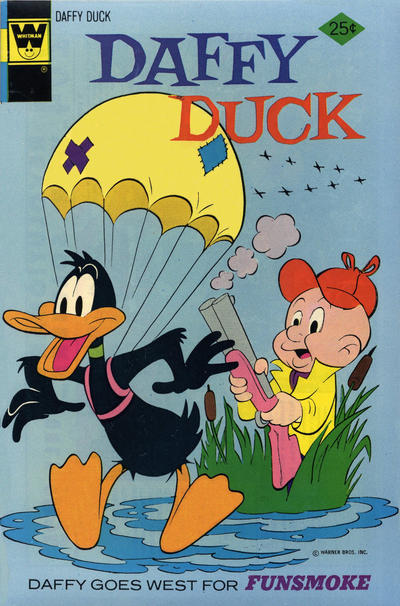Cover for Daffy Duck (Western, 1962 series) #90 [Gold Key Variant]