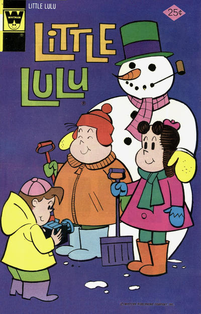 Cover for Little Lulu (Western, 1972 series) #230 [Gold Key Variant]