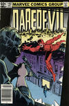Cover for Daredevil (Marvel, 1964 series) #192 [Newsstand Edition]