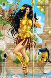 Cover Thumbnail for Grimm Fairy Tales Presents Godstorm (2012 series) #1 [Moore Exclusive ]