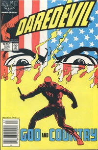 Cover for Daredevil (Marvel, 1964 series) #232 [Direct Edition]