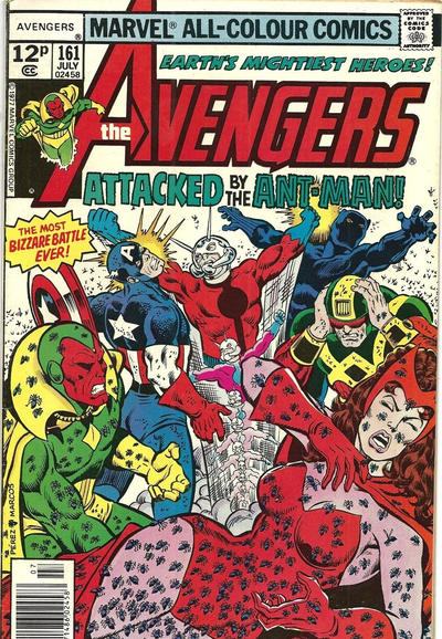 Cover for The Avengers (Marvel, 1963 series) #161 [30¢ Cover Price]