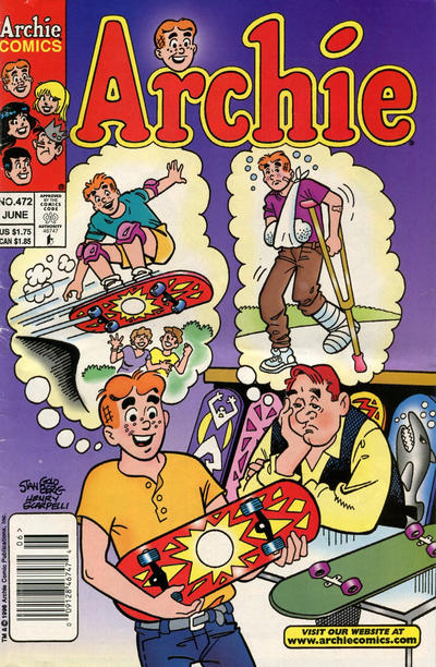 Cover for Archie (Archie, 1959 series) #472 [Direct]