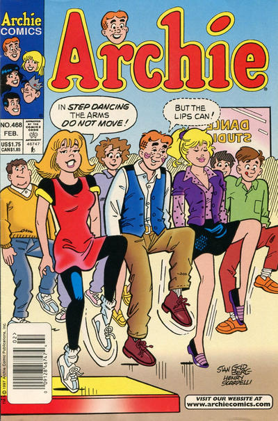 Cover for Archie (Archie, 1959 series) #468 [Direct]