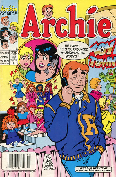 Cover for Archie (Archie, 1959 series) #470 [Direct]