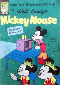 Cover Thumbnail for Walt Disney's Mickey Mouse (W. G. Publications; Wogan Publications, 1956 series) #75