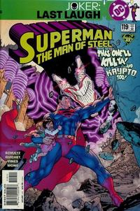 Cover Thumbnail for Superman: The Man of Steel (DC, 1991 series) #119